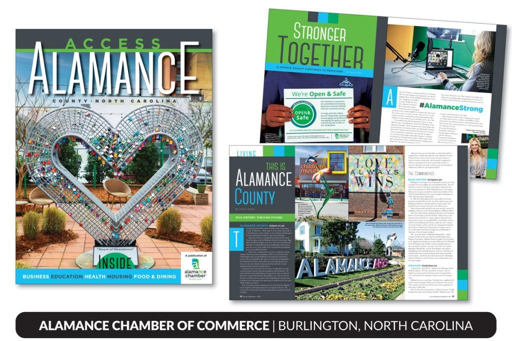 Alamance Chamber, Burlington, North Carolina