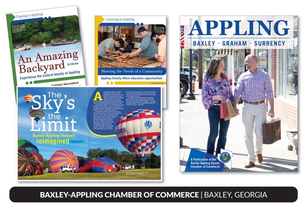 Baxley Appling County Chamber of Commerce, 2021 Magazine, Baxley, Georgia